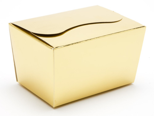 125g Ballotin - Bright Gold | Meridian Speciality Packaging