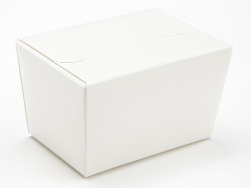100g Ballotin - White | Meridian Speciality Packaging