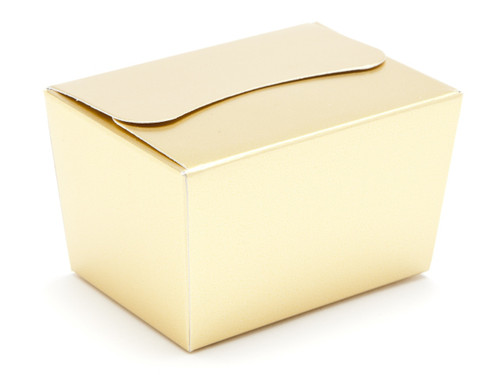 100g Ballotin - Matt Gold | Meridian Speciality Packaging