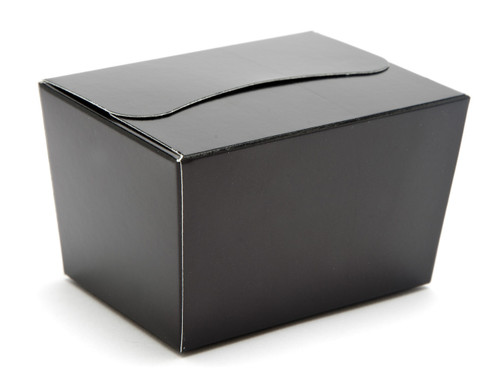 100g Ballotin - Black | Meridian Speciality Packaging