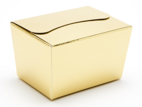 100g Ballotin - Bright Gold | Meridian Speciality Packaging