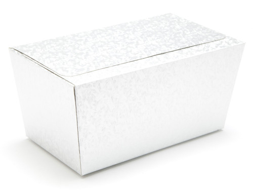 1000g Ballotin - Embossed Silver   Meridian Speciality Packaging