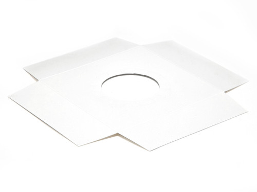 Plinth to fit Angled Base for Large Transparent Tapered Easter Carton - White | MeridianSP