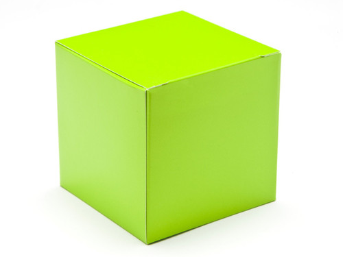 80mm Cube Carton - Vibrant Green | Meridian Speciality Packaging