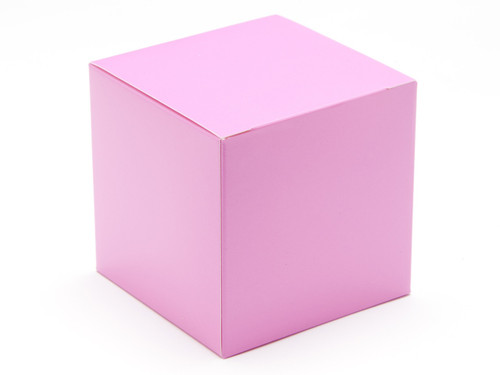 80mm Cube Carton - Electric Pink | MeridianSP