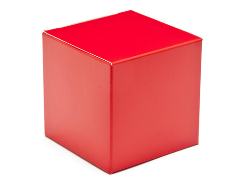60mm Cube Carton - Red | Meridian Speciality Packaging