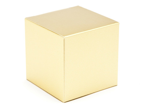 60mm Cube Carton - Matt Gold | MeridianSP