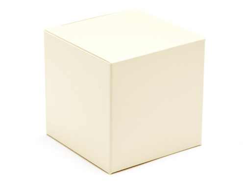 60mm Cube Carton - Cream | Meridian Speciality Packaging