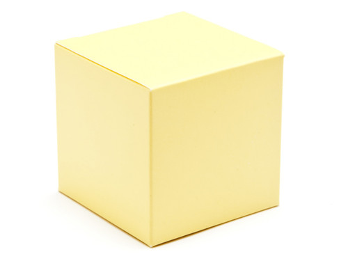 60mm Cube Carton - Buttermilk | Meridian Speciality Packaging