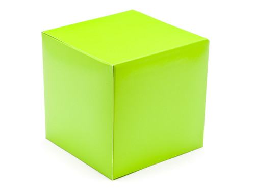 120mm Cube Carton - Vibrant Green | MeridianSP