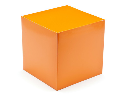 120mm Cube Carton - Orange | MeridianSP