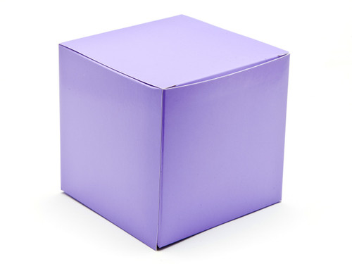 120mm Cube Carton - Lilac | Meridian Speciality Packaging