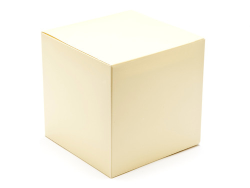 120mm Cube Carton - Cream | Meridian Speciality Packaging