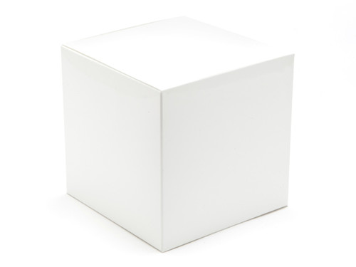 100mm Cube Carton - White | Meridian Speciality Packaging