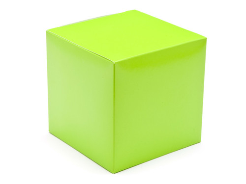 100mm Cube Carton - Vibrant Green | Meridian Speciality Packaging