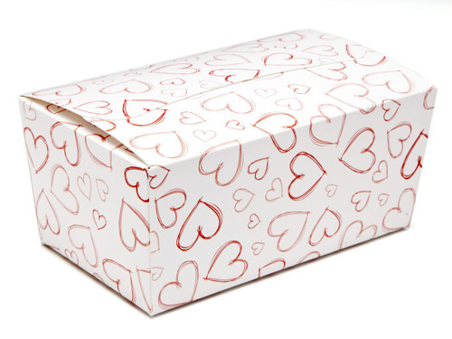 Light Hearts 500g sized Ballotin - Gift Carton Ideal for Valentine's occasions or wedding or gifting