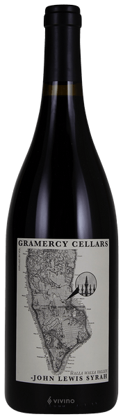 Gramercy Cellars John Lewis Syrah Columbia Valley 2015