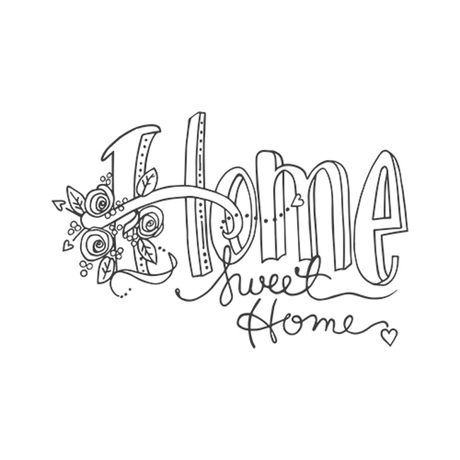 Stamps Tammy Tutterow Designs Home Sweet Home