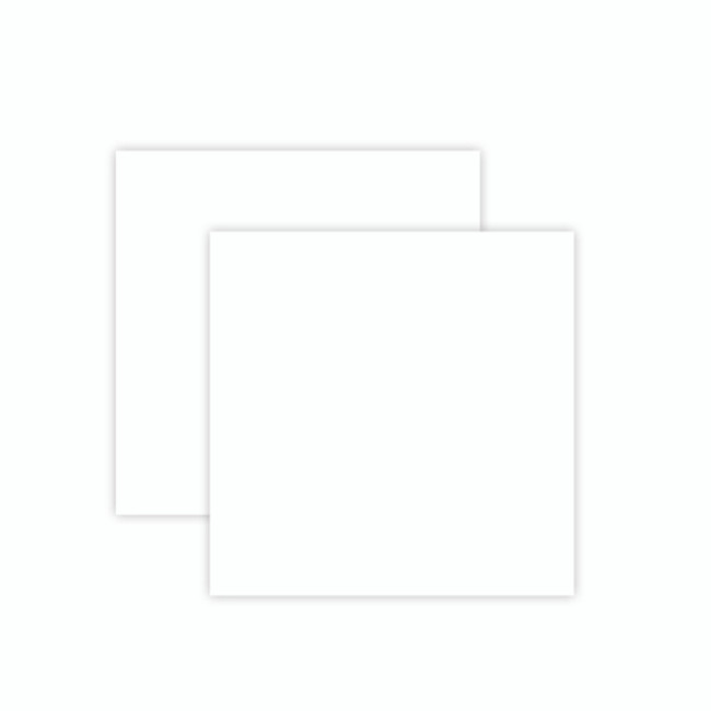 Platinum Pack 7 - 6 in x 6 in White Craft Foam Sheets (2 Pieces) (PLP-007)