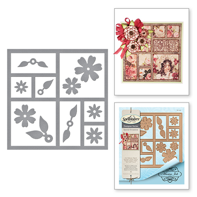 Card Creator Windows of Memories Special Occasions by Marisa Job Etched Dies