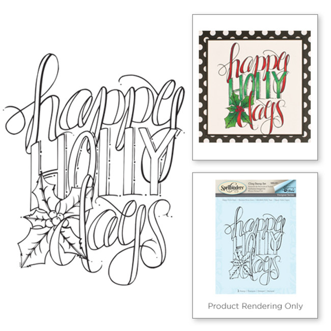 Happy Holly Days Holiday Stamps by Tammy Tutterow