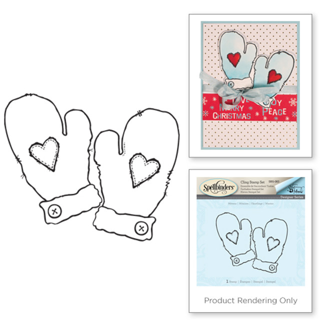 Mittens Holiday Stamps by Tammy Tutterow