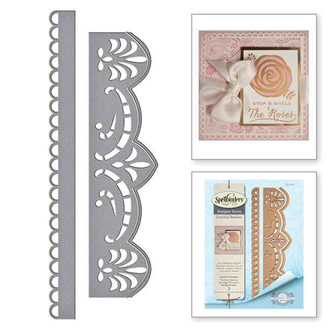Graceful Brackets Card Creator Amazing Paper Grace by Becca Feeken Etched Dies