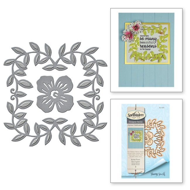 Shapeabilities Border Flower Etched Dies from the Joyous Celebrations Collection by Sharyn Sowell