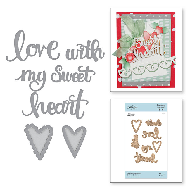 Shapeabilities Sew Sweet Sentiments Sew Sweet Collection by Tammy Tutterow