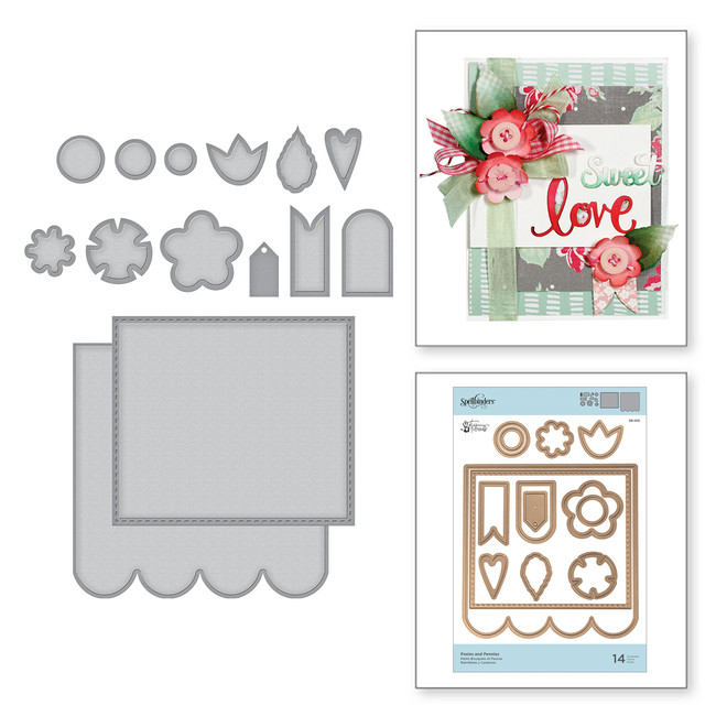 Shapeabilities Posies and Pennies Sew Sweet Collection by Tammy Tutterow
