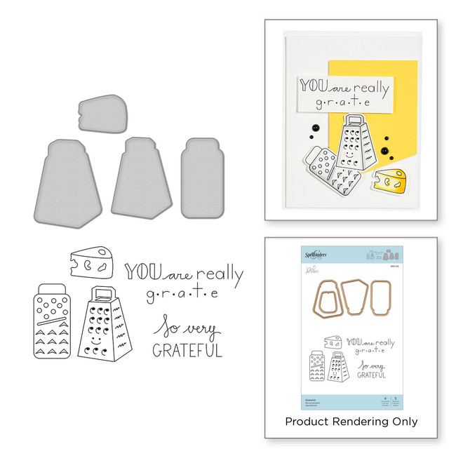 Grateful Stamp and Die Set The Perfect Match by Debi Adams