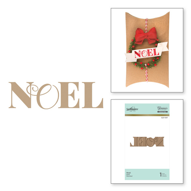 Noel Holiday Glimmer Hot Foil Plate