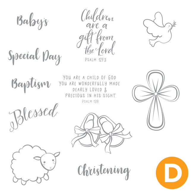 Baby's Special Day Stamp Set