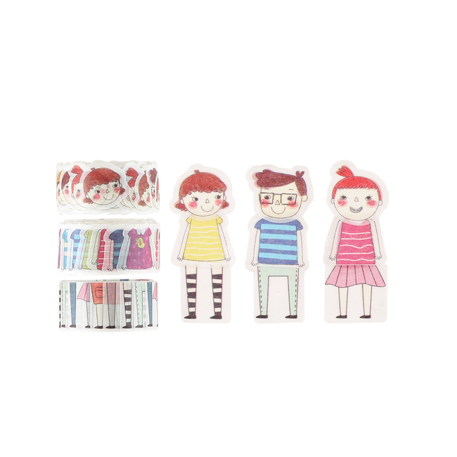 Colorful Friends Washi Tape