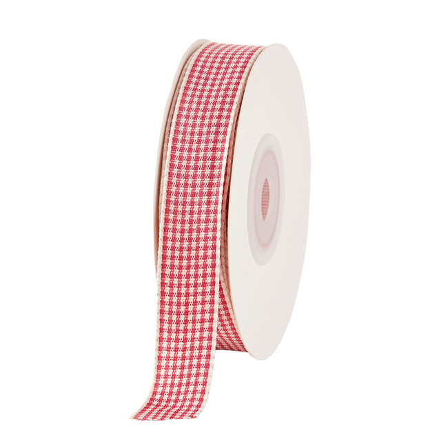 Gingham Ribbon Sweet Berry
