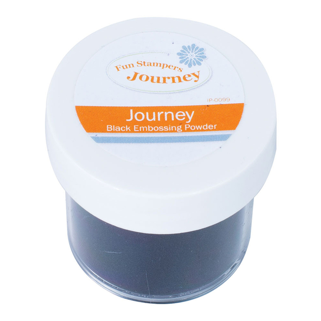 Journey Black- Embossing Powder