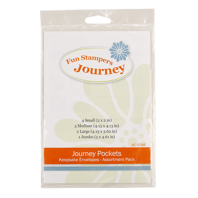 Journey Pockets Keepsake Envelopes