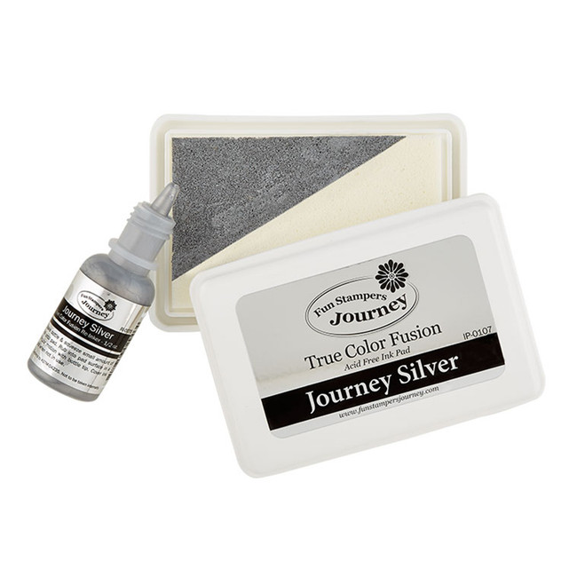 Journey Silver Ink Pad