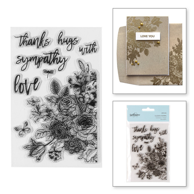Floral Love Clear Stamps