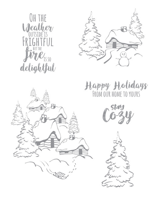 Stay Cozy Stamp Set
