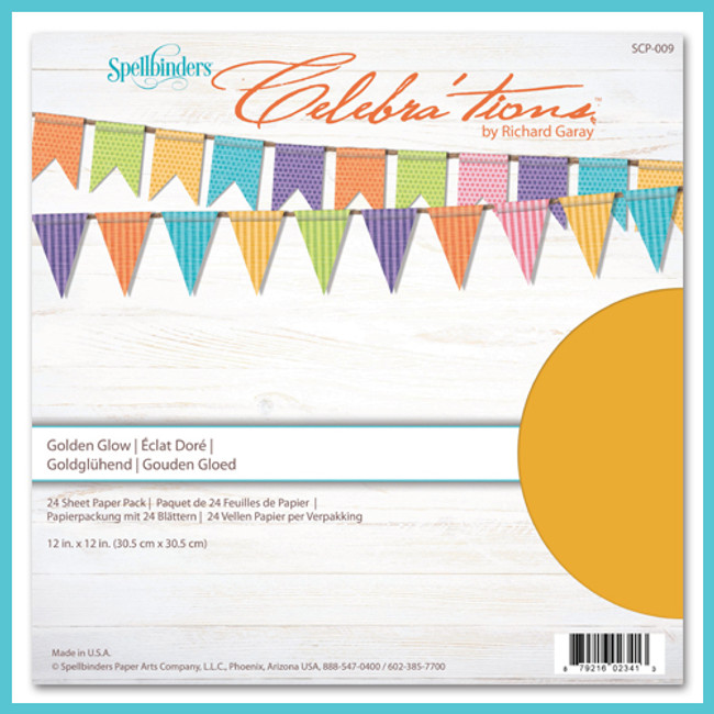 Celebrations Golden Glow Paper