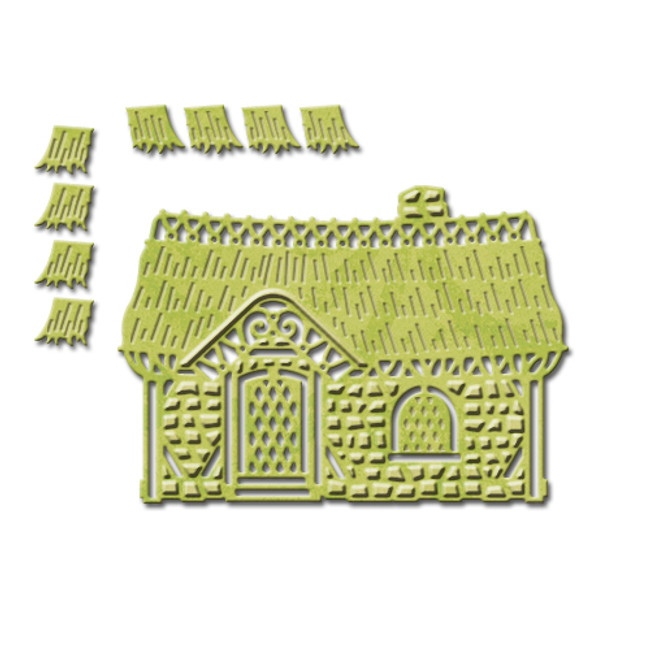 Shapeabilities Heart & Home Cozy Cottage Etched Dies