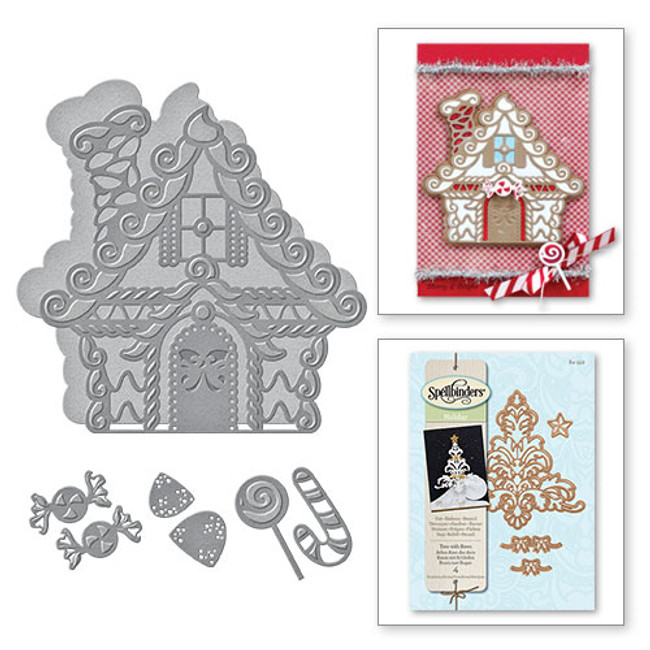 Shapeabilities Gingerbread House Etched Dies