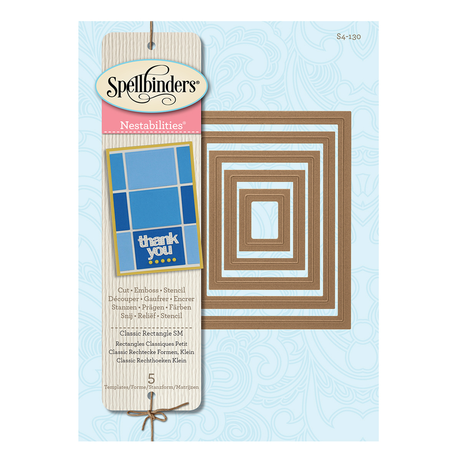 NESTABILITIES CLASSIC RECTANGLES SMALL DIES