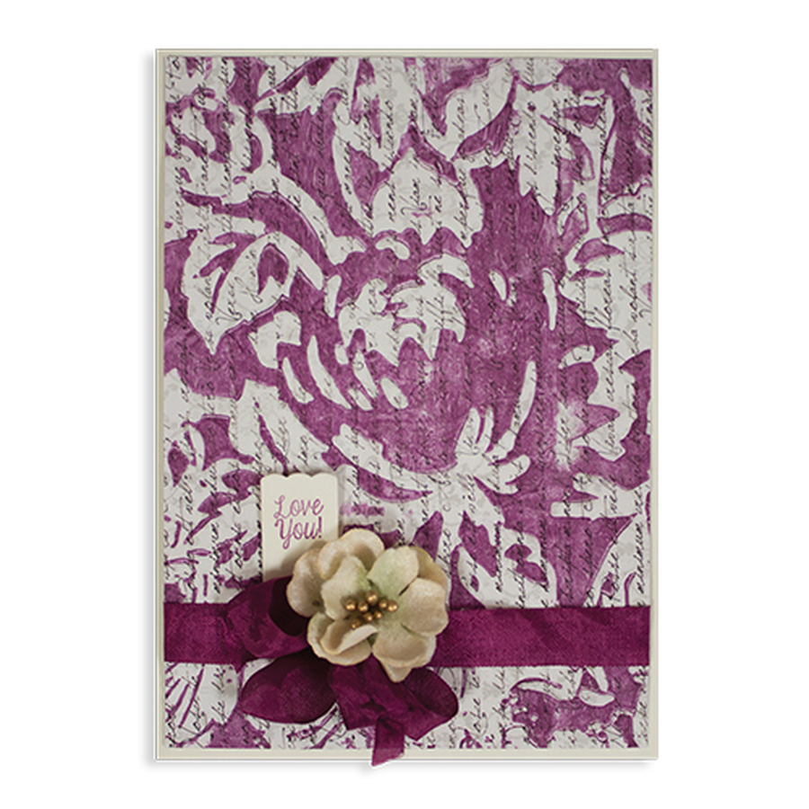 Embossing Folders Tammy Tutterow Designs Rose Tablecloth