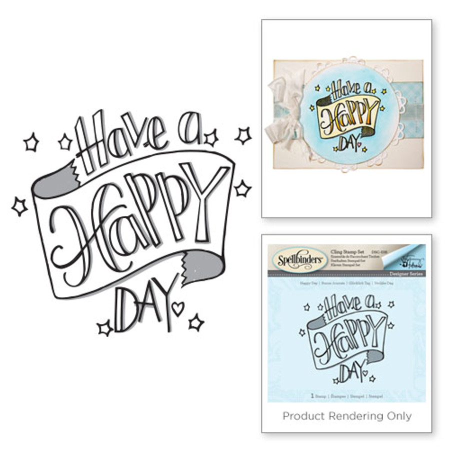 Happy Day Happy Grams by Tammy Tutterow 3D Shading Stamps