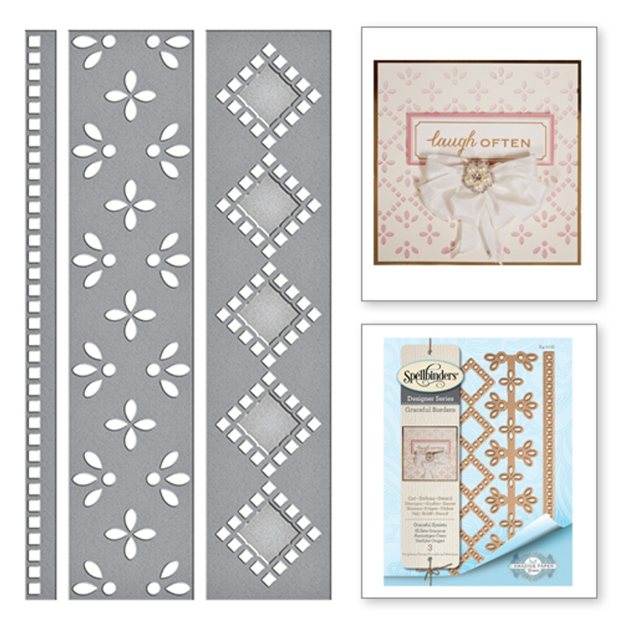 Graceful Eyelets Card Creator Amazing Paper Grace by Becca Feeken Etched Dies