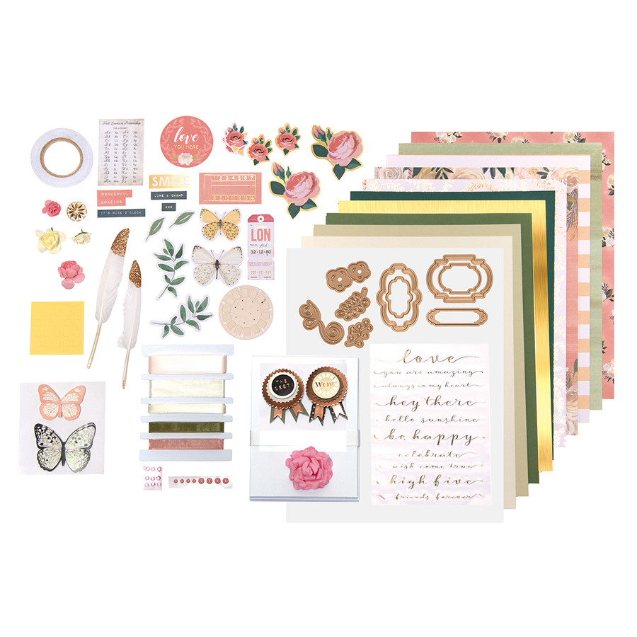 Fluttering Love - Card Kit of the Month Club