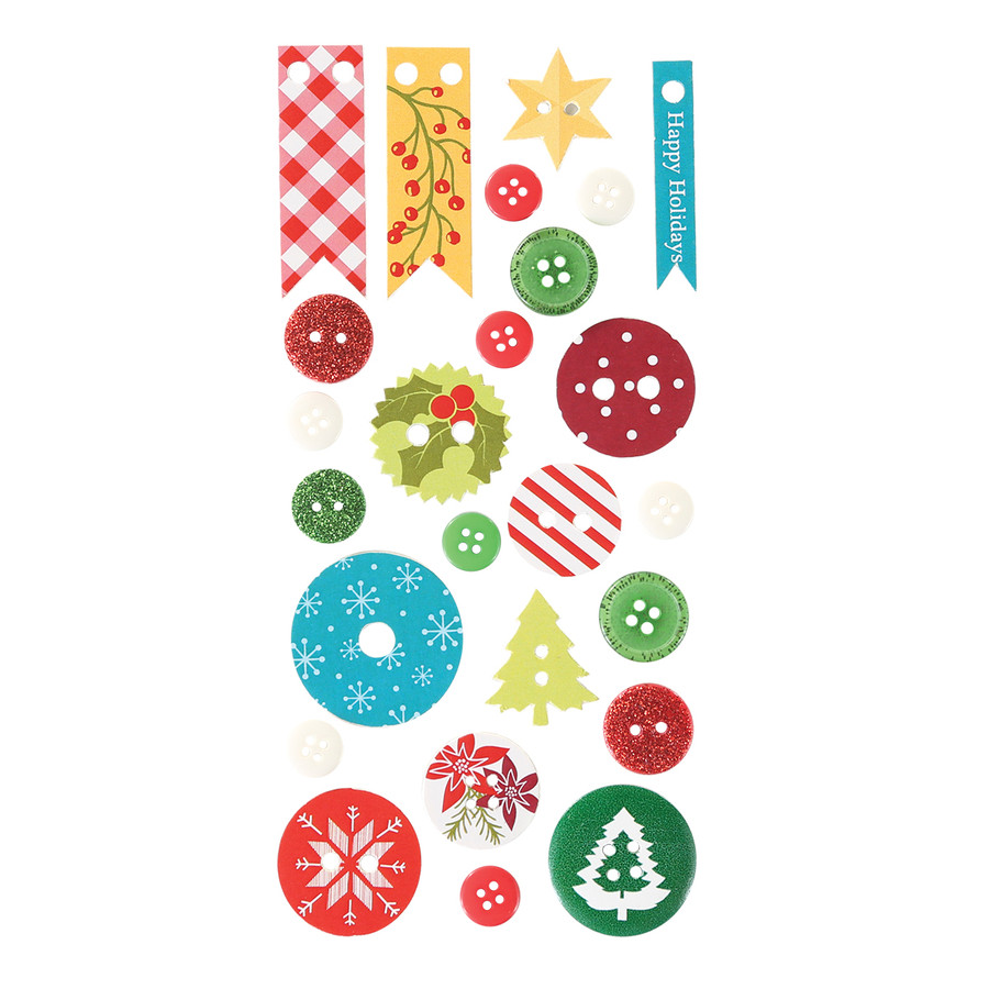Holiday Mix and Match Embellishment Pack