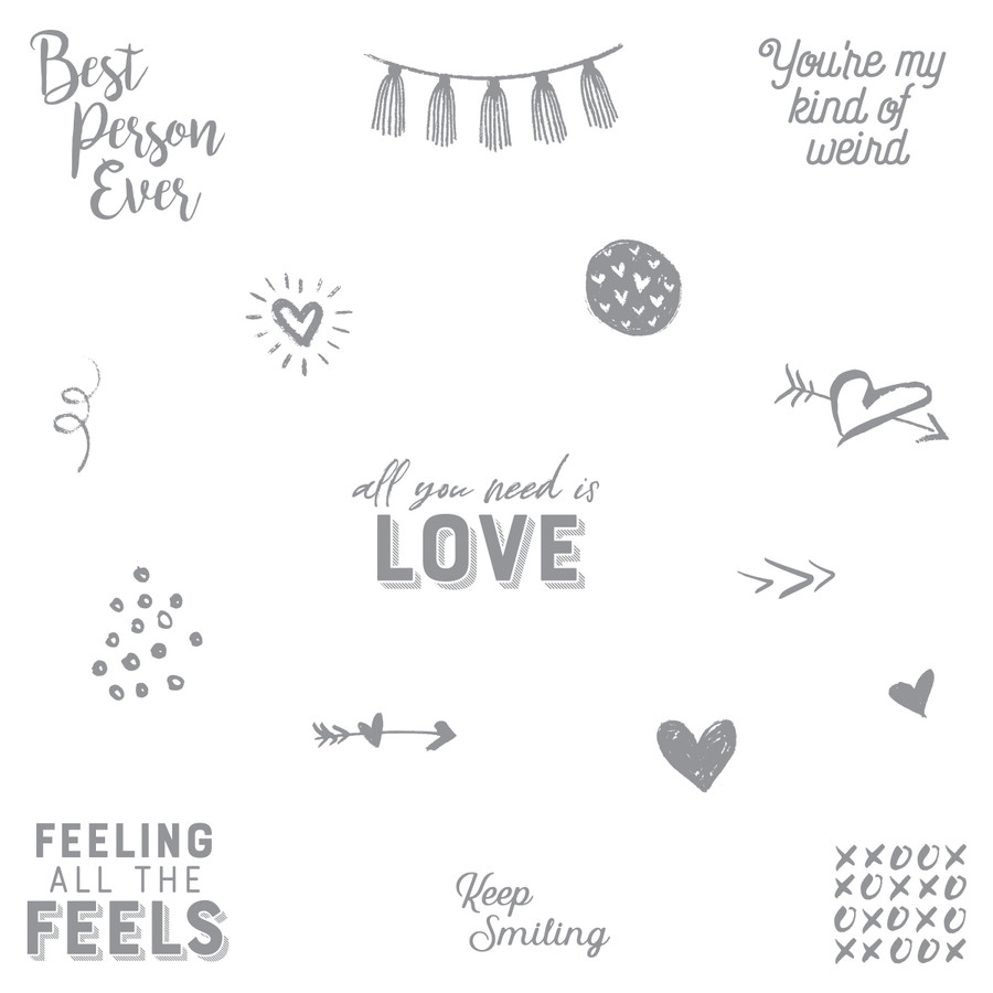 All the Feels Stamp Set